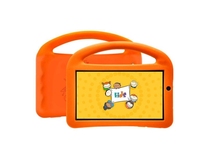 """Tablet DL Eletrônicos 8.0 GB LCD 7 """" Android 7.0 (Nougat) Creative Kids"""