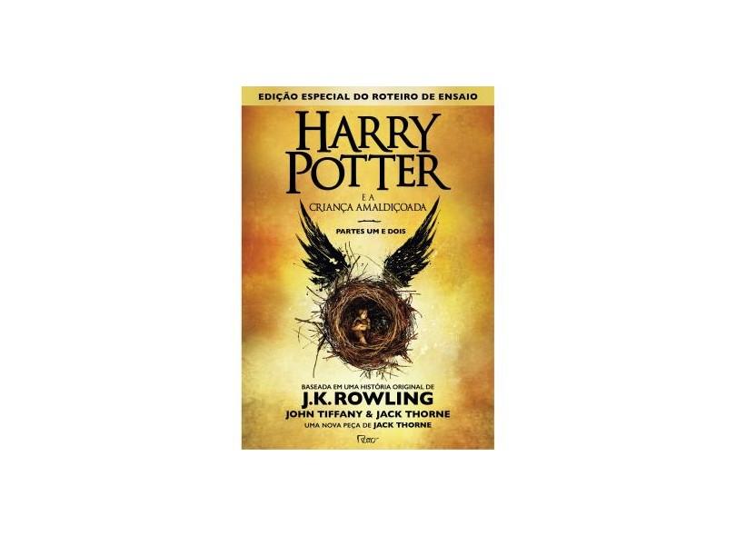 Harry Potter e a Criança Amaldiçoada - Parte Um e Dois - Capa Brochura - J. K. Rowling - 9788532530424