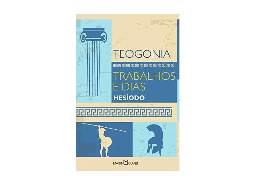 Teogonia. Trabalhos e Dias - Capa Comum - 9788544000113