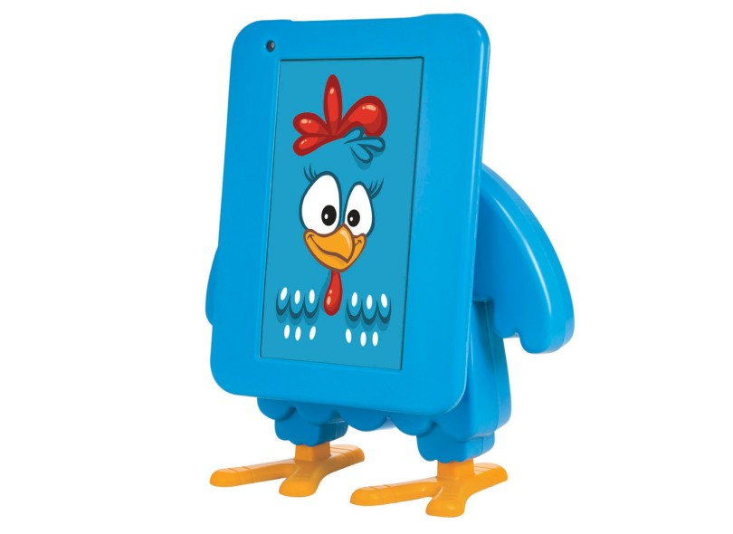 "Tablet Tectoy Galinha Pintadinha 4 GB TFT 7"" Android 4.1 (Jelly Bean) TT-1715"