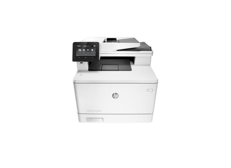 Multifuncional HP Laserjet Pro M477FDW Laser Colorida Sem Fio