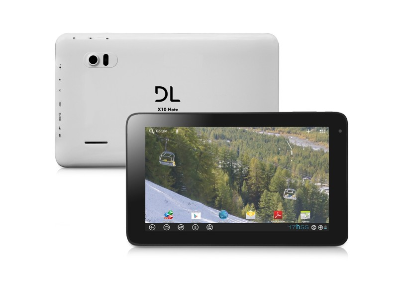 """Tablet DL 10.1"""" 4 GB Wi-Fi LCD Android 4.0 (Ice Cream Sandwich) X10 Note"""