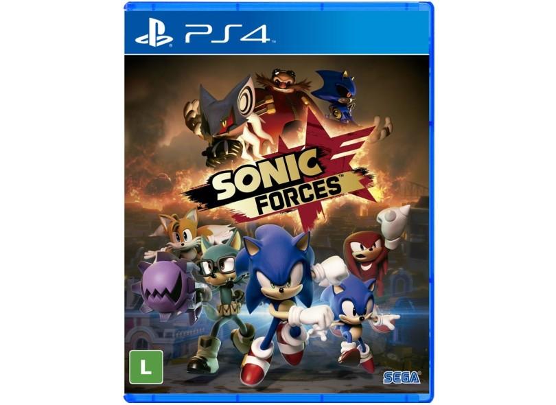 Jogo Sonic Forces PS4 Sega