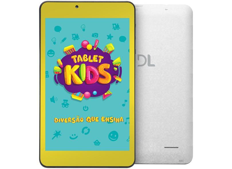 "Tablet DL Eletrônicos Kids 8.0 GB TFT 7.0 "" Android 7.1 (Nougat) C10"