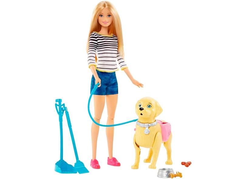 Boneca Barbie Family Passeio Com O Cachorrinho Mattel