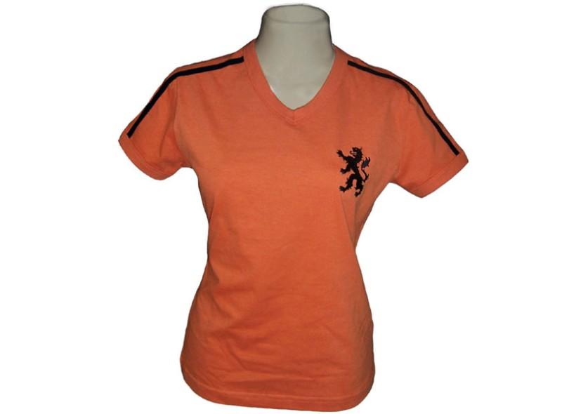 Camisa Retrô Feminina Holanda 1974 Liga Retrô