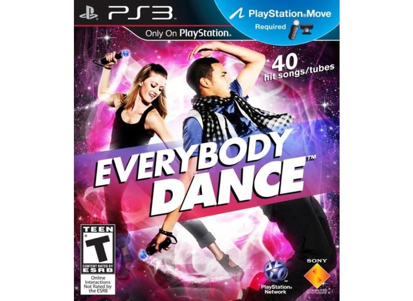 Jogo Everybody Dance Sony PlayStation 3