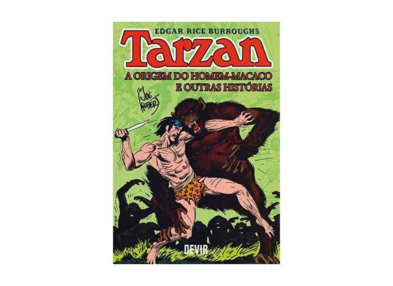 Tarzan: a Origem do Homem-Macaco e Outras Histórias - Joe Kubert - 9788575327128