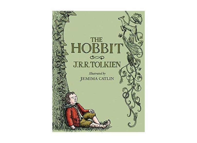 The Hobbit: Illustrated Edition - Capa Dura - 9780544174221