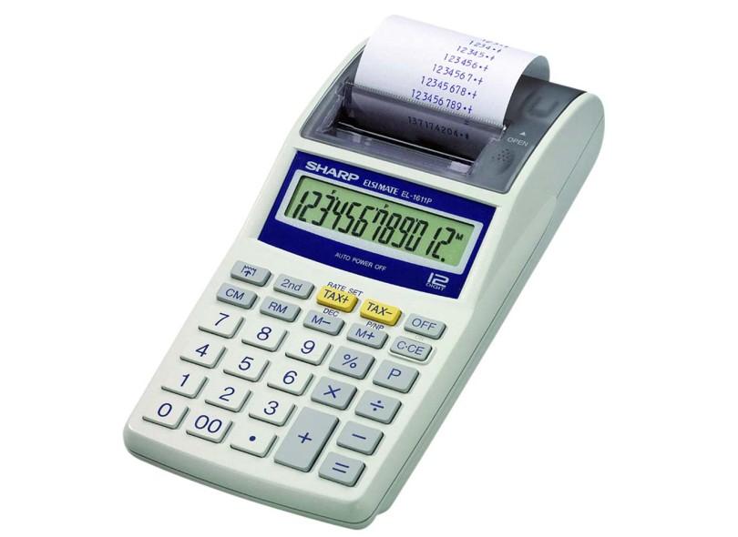 Calculadora de Mesa com Bobina Sharp EL1611P