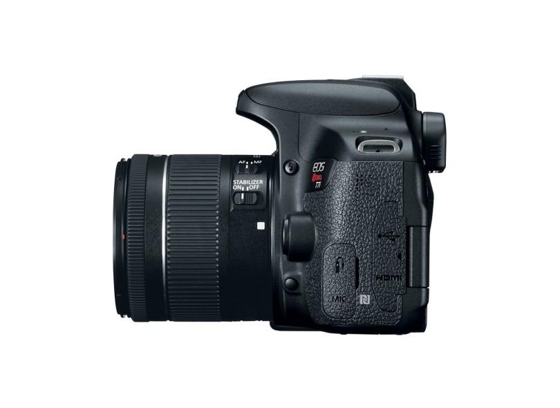 Câmera Digital DSLR(Profissional) Canon EOS 24.2 MP Full HD Rebel T7i