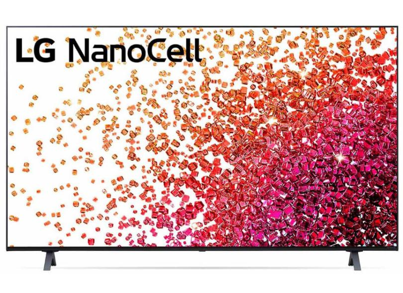 """Smart TV TV Nano Cristal 55 """" LG ThinQ AI 4K HDR 55NANO75SPA 3 HDMI"""