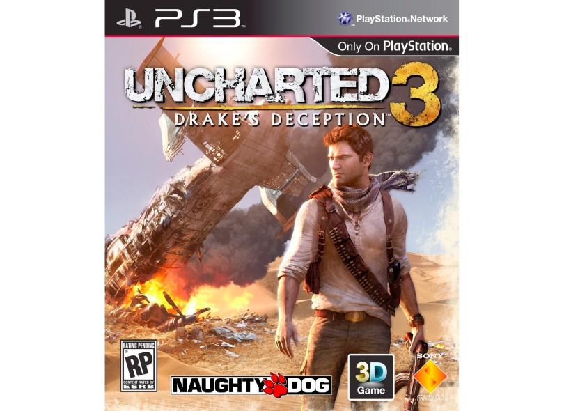 Jogo Uncharted 3: Drake's Deception PlayStation 3 Sony