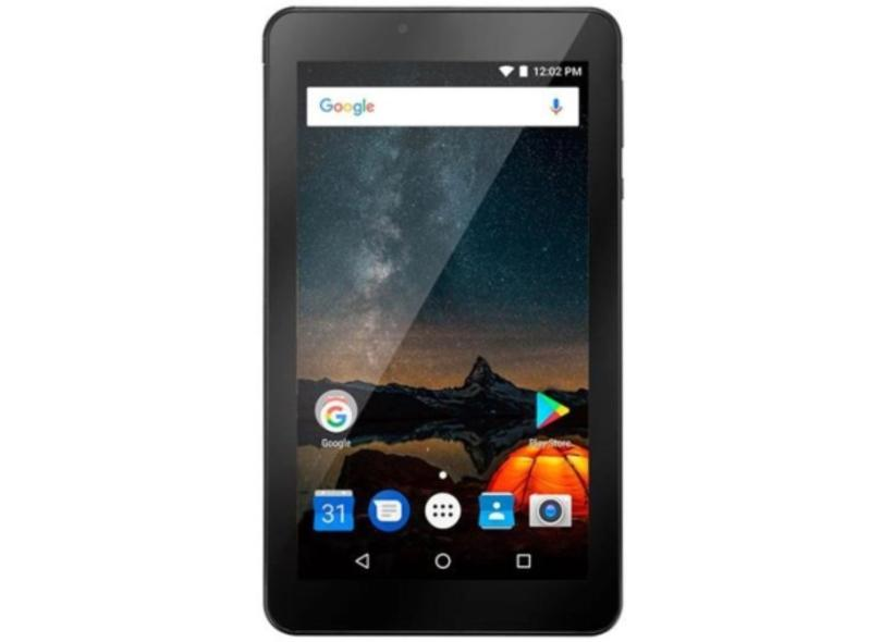 """Tablet Multilaser Quad Core 32.0 GB LCD 7.0 """" Android 8.1 (Oreo) 2.0 MP NB312"""