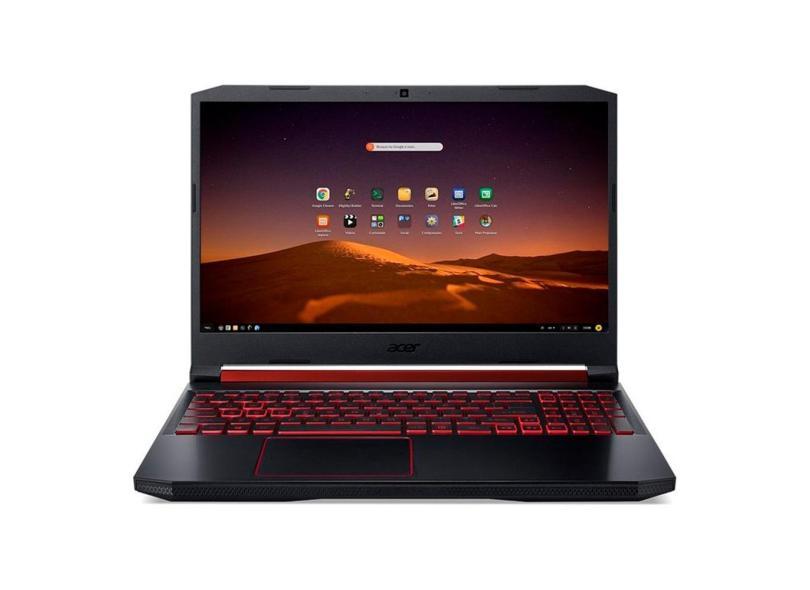 """Notebook Acer Aspire Nitro 5 AMD Ryzen 7 3750H 3ª Geração 8.0 GB de RAM 1024 GB Híbrido 128.0 GB 15.6 """" Full Endless OS AN515-43-R4C3"""