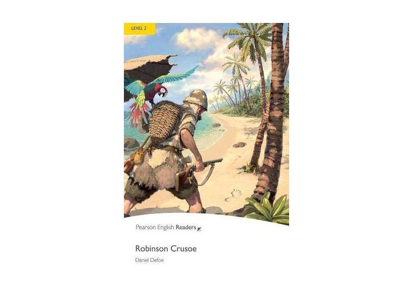 Robinson Crusoe - Level 2 Pack CD MP3 - Penguin Readers - Defoe, Daniel - 9781408278154