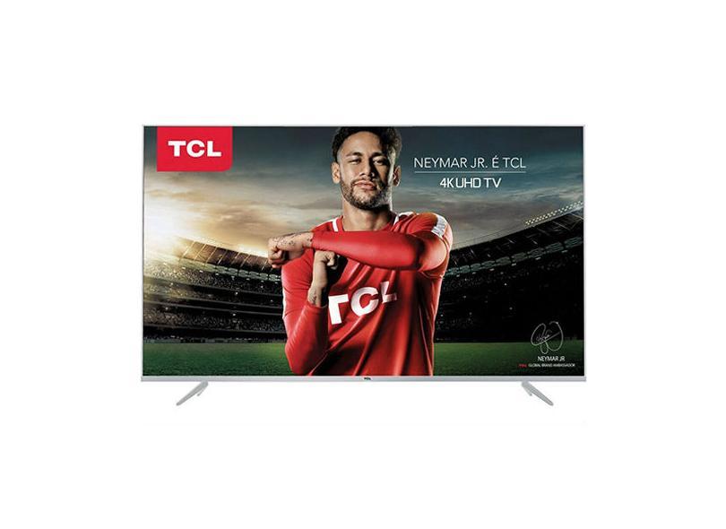 """Smart TV TV LED 65 """" TCL 4K 65P6US 3 HDMI"""