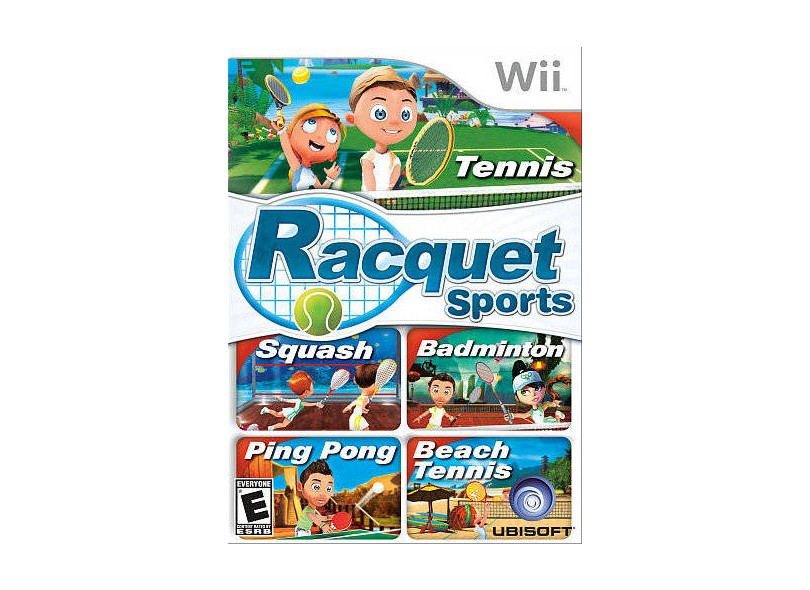 Jogo Racquet Sports Ubisoft Wii