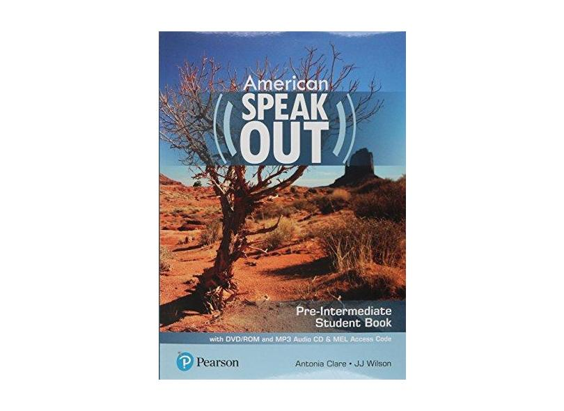 Speakout: American - Pre-Intermediate - Student Book With DVD-ROM and MP3 Audio CD & MEL Access Code - Antonia Clare - 9786073240390
