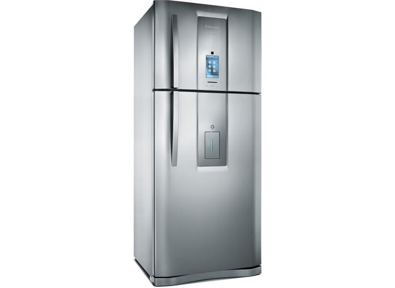Geladeira Electrolux i-Kitchen Frost Free Duplex 542 Litros Inox DT80X