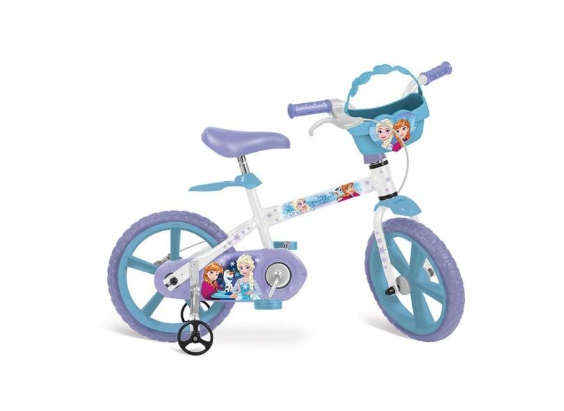 Bicicleta Bandeirante Frozen Aro 14 2498