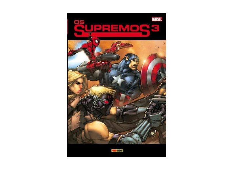 Os Supremos - Vol. 3 - Lichtner, Christian; Lichtner, Christian; Madureira, Joe; Madureira, Joe; Loeb, Jeph ; Loeb, Jeph - 9788565484619