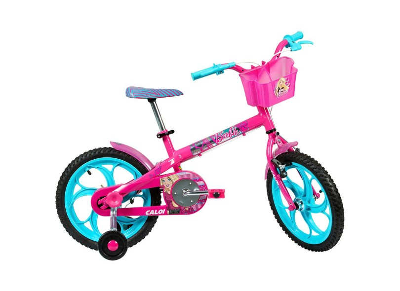 Bicicleta Caloi Barbie Aro 16 2017