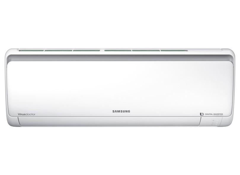 Ar Condicionado Split Hi Wall Samsung 9000 BTUs Inverter Controle Remoto Quente/Frio AR09MSSPBGMNAZ