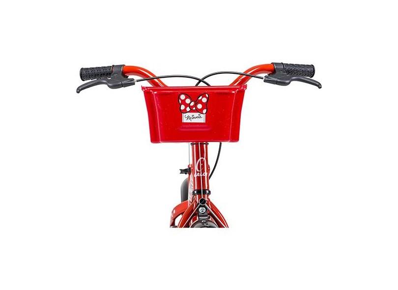 Bicicleta Caloi Aro 16 Minnie