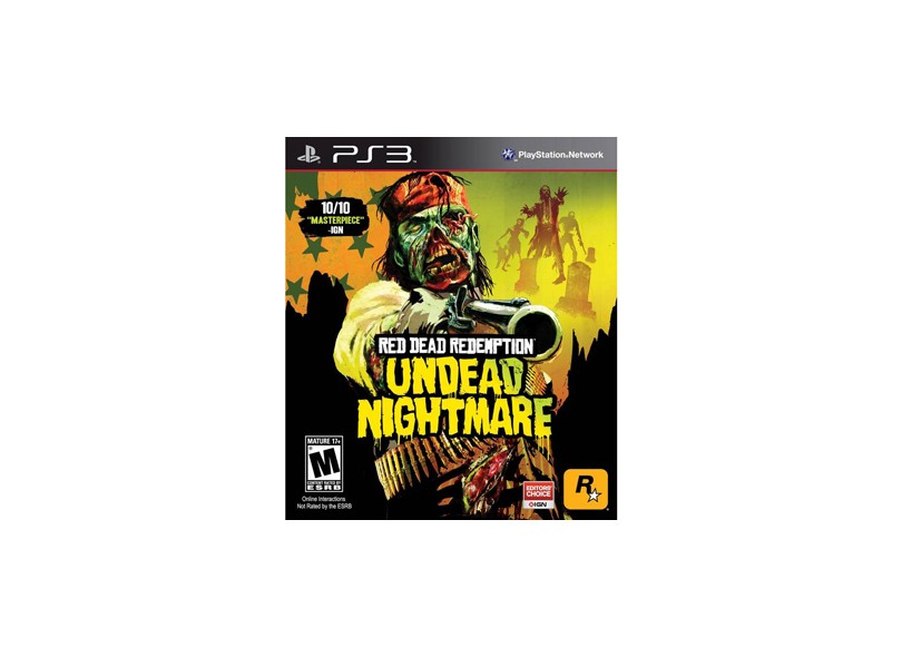 Jogo Red Dead Redemption: Undead Nightmare Collection Rockstars PS3