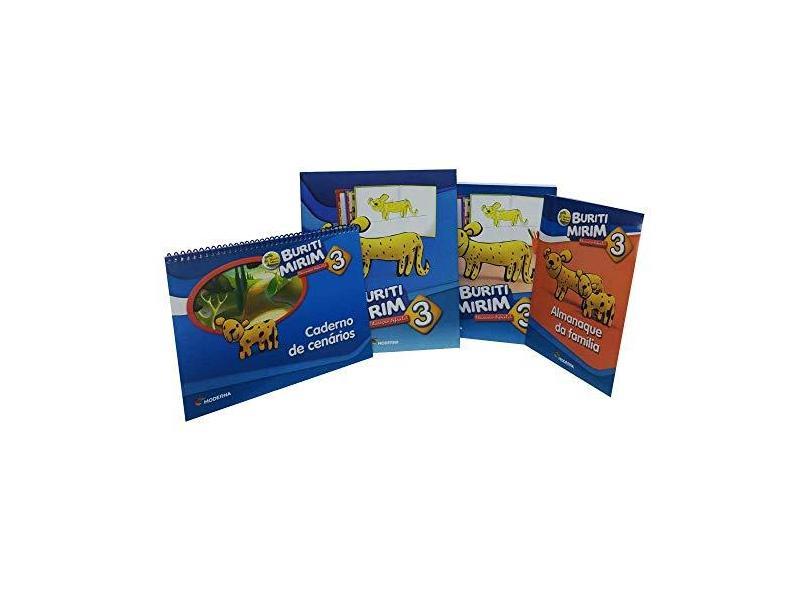 Buriti Mirim - Educação Infantil - 3º Ano - 3ª Ed. 2019 - Editora Moderna - 9788516103873