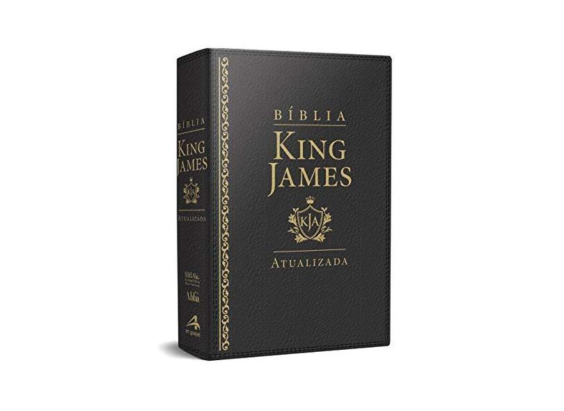 Bíblia King James Atualizada.preta - King James - 7899938408193