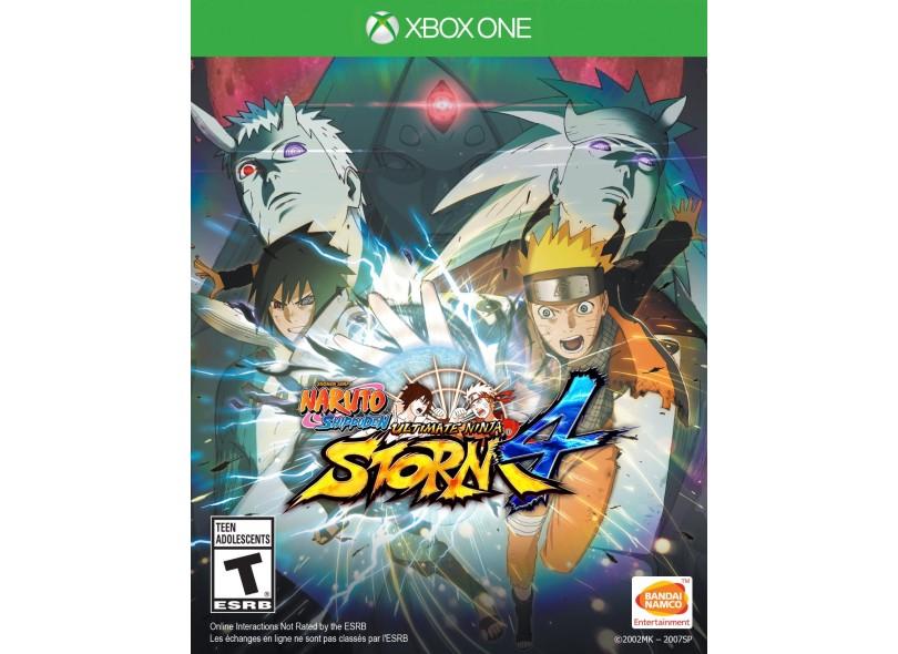 Jogo Naruto Shippuden: Ultimate Ninja Storm 4 Xbox One Bandai Namco