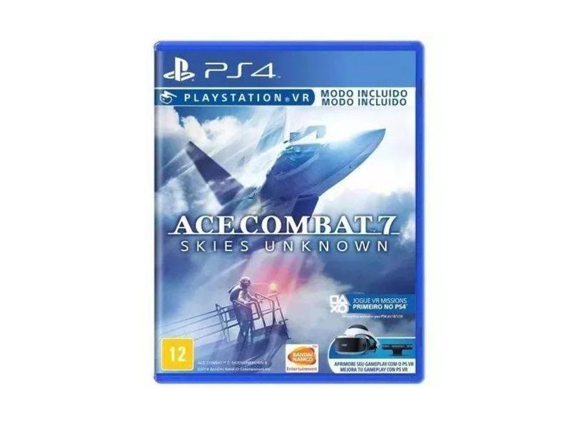 Jogo Ace Combat 7 Skies: Unknown PS4 Bandai Namco