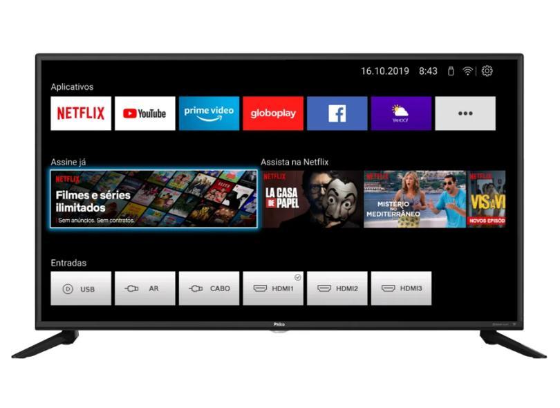 """Smart TV TV LED 42 """" Philco Full PTV42G70N5CF 3 HDMI"""
