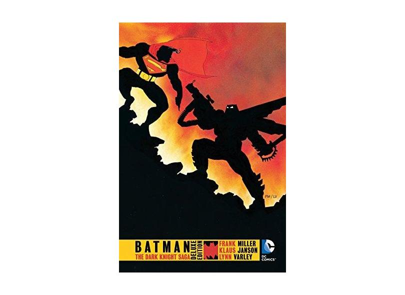 Batman: The Dark Knight Returns Deluxe Edition - Frank Miller - 9781401256913