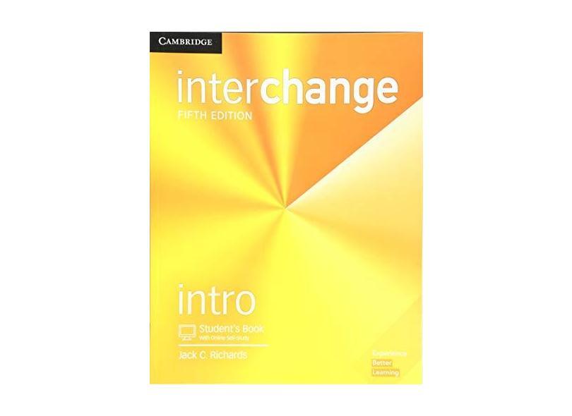 Interchange Intro Student's Book with Online Self-Study - Jack C. Richards - 9781316620113