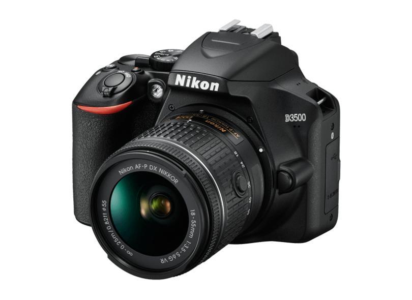 Câmera Digital DSLR(Profissional) Nikon 24.2 MP Full HD D3500