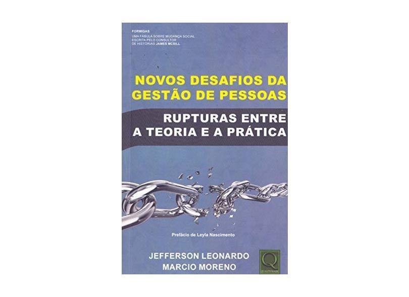 Novos Desafios da Gestão de Pessoas - Jeferson Leonardo - 9788541403306