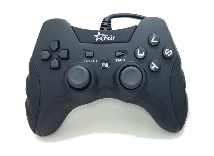 Controle PS3 PC Feir Smash  FR-218A - Importado