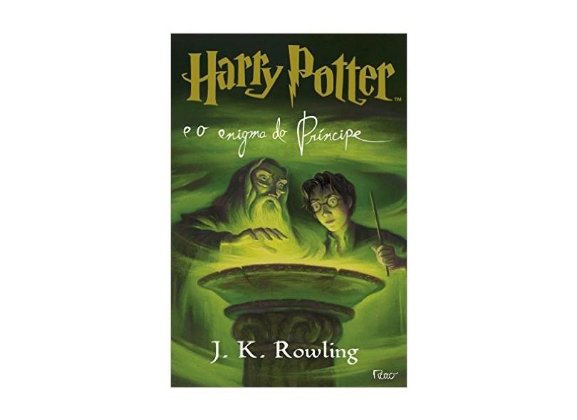 Harry Potter e o Enigma do Príncipe 6 - Rowling, J.k. - 9788532519474