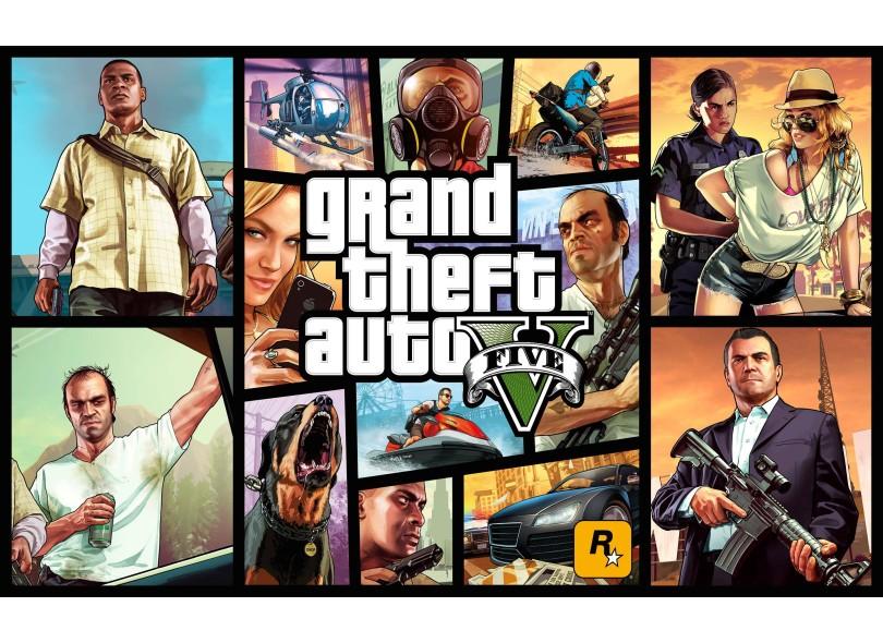 Jogo Grand Theft Auto V PS4 Rockstar