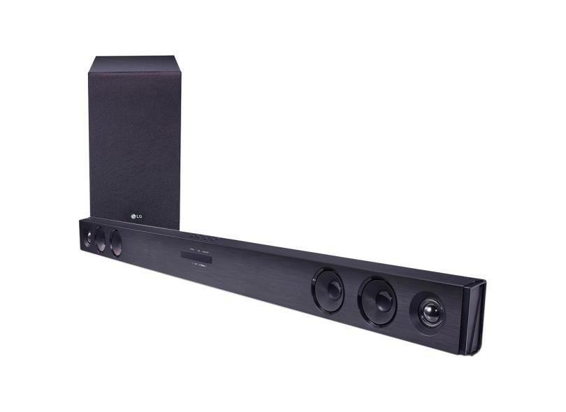 Home Theater Soundbar LG 300 W 2.1 Canais SJ3