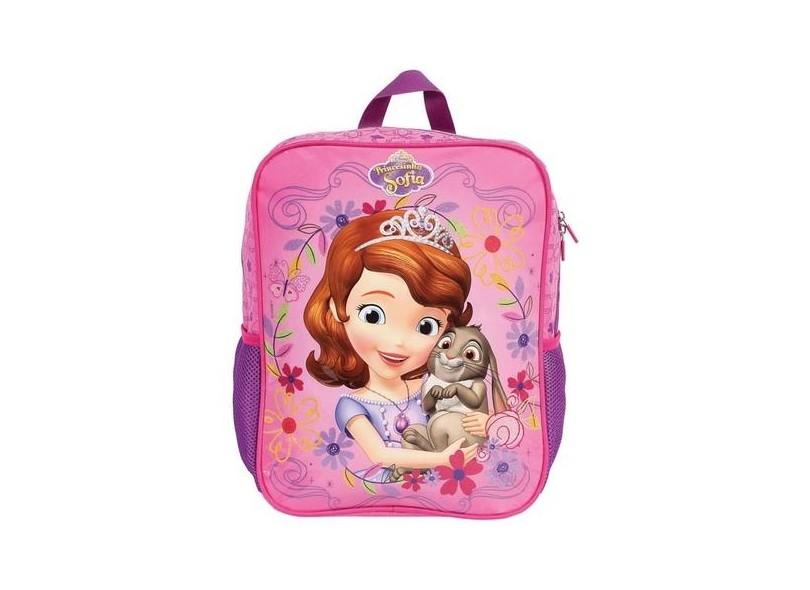 Mochila Escolar DMW Princesinha Sofia Sofia The First Pink G 49089