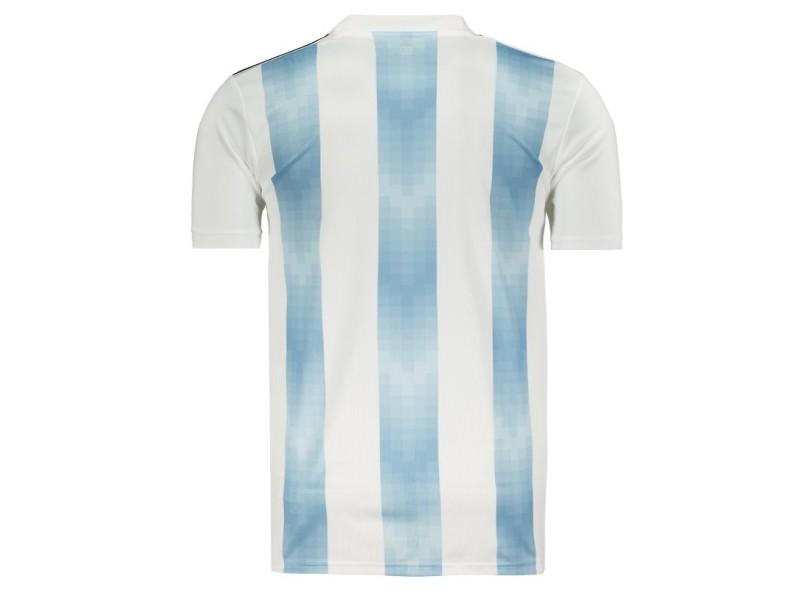 Camisa Torcedor Argentina I 2018 sem Número Adidas