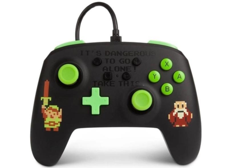 Controle Nintendo Switch Retro Zelda - Power A