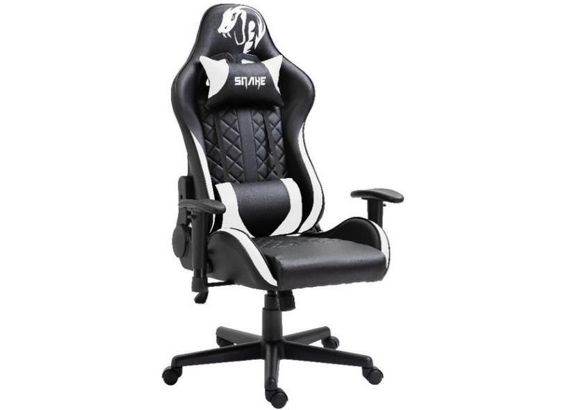 Cadeira Gamer Reclinável Mamba Negra Snake Gaming