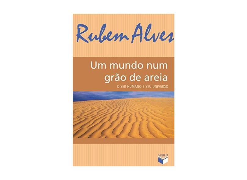 Mundo Num Grao De Areia, Um - Rubem Alves - 9788587795335