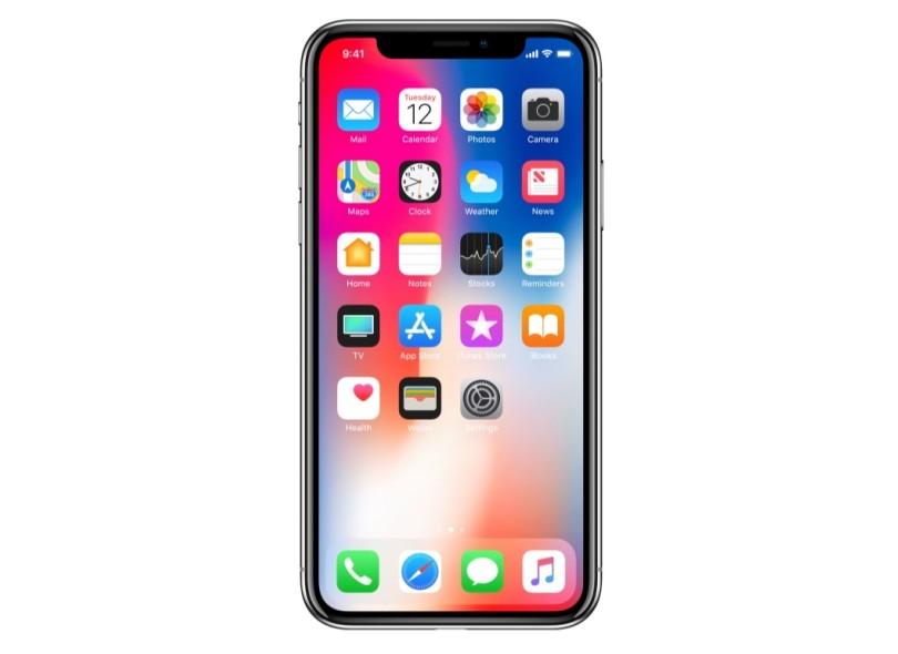 Smartphone Apple iPhone X 256GB 12,0 MP iOS 11 3G 4G Wi-Fi
