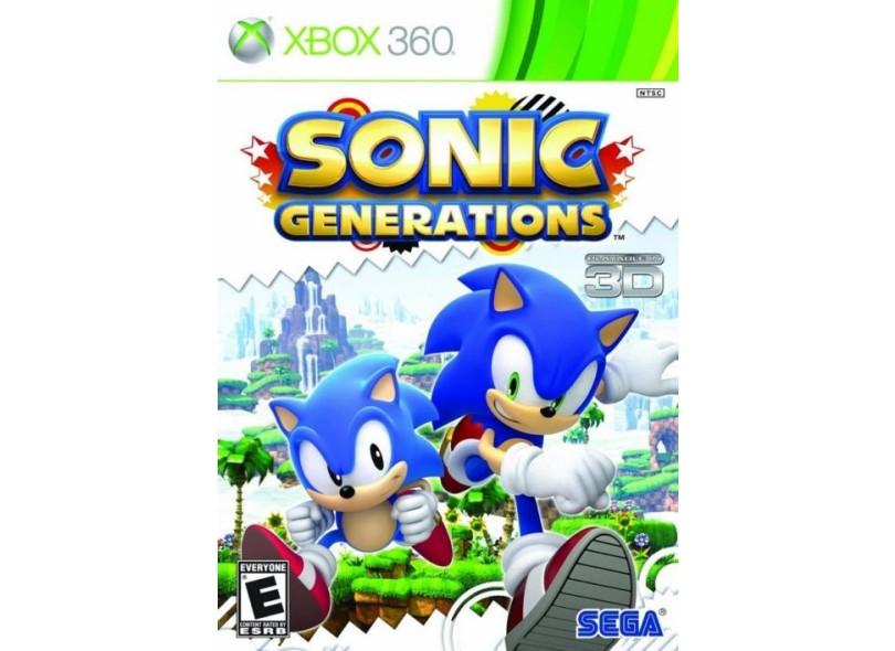 Jogo Sonic Generations Sega Xbox 360
